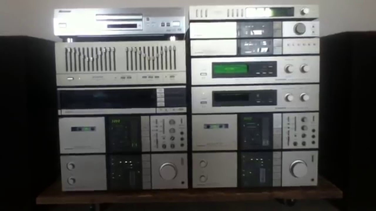 Classic Vintage Pioneer Communication Series Hifi Stereo