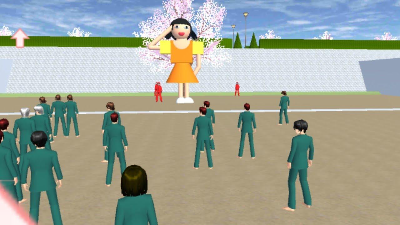 Squid Game   สควิดเกม  ใครดูแล้วบ้าง อิอิ Squid Game In sakura school simulator 🌸 PormyCH