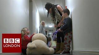 Homeless: Temporary accommodation – BBC London News