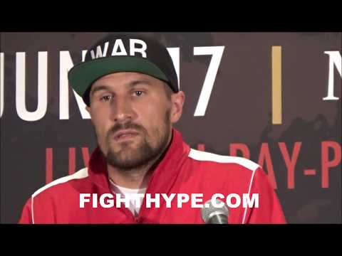 (SHOCKER!!!) IRRITATED KOVALEV STORMS OUT OF FINAL PRESSER AFTER TRADING WORDS WITH ANDRE WARD