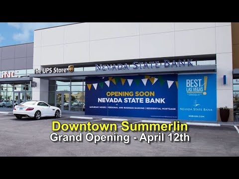 Nevada State Bank Two Cents Ksnv News 3 Downtown Summerlin Branch