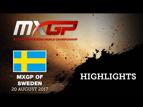Qualifying Highlights - MXGP of Sweden 2017 #motocross