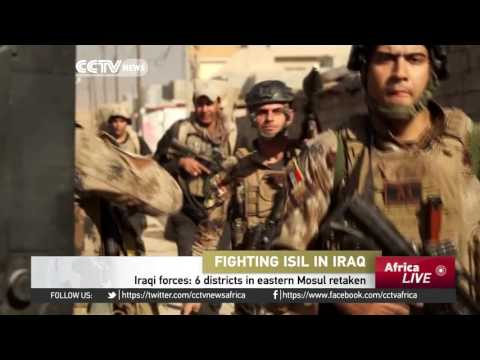 Iraqi forces: 6 districts in eastern Mosul retaken