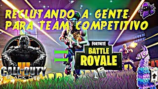 CONTING PEOPLE pour COMPETITIVE TEAM APC!!! Chili Fortnite Direct -AlexproX