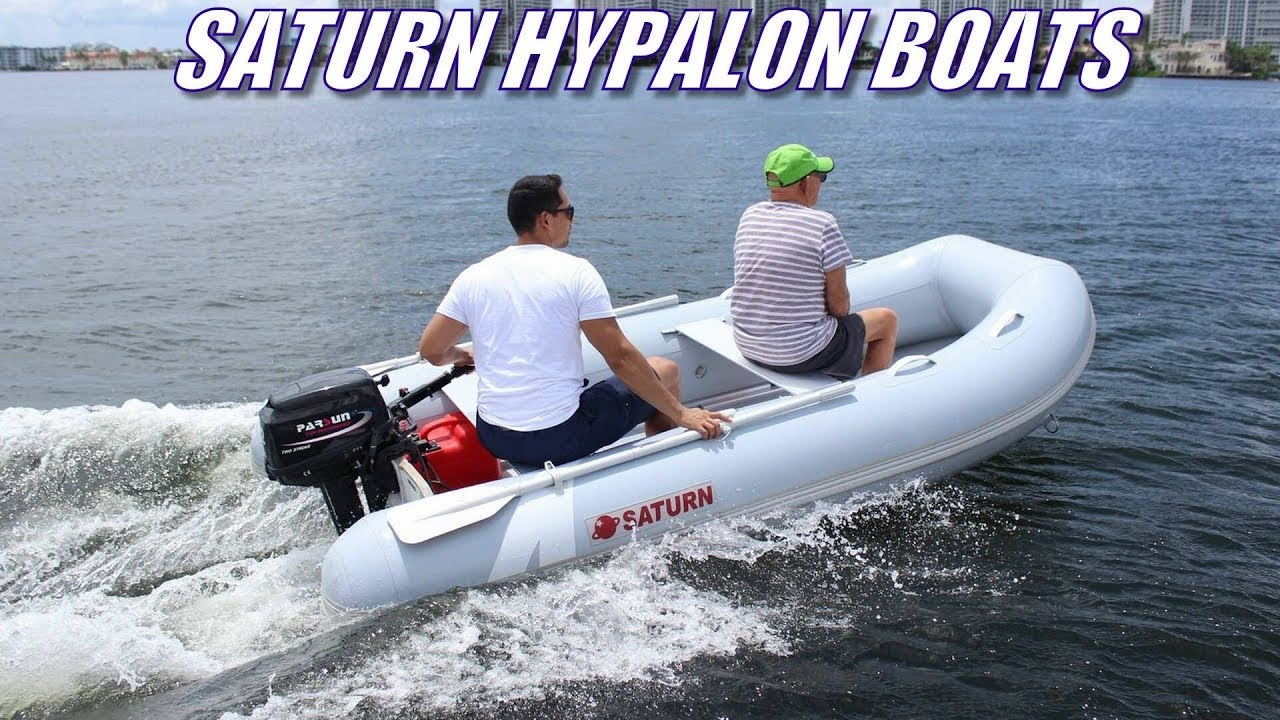 Saturn Hypalon Inflatable Boat HP320 with 12HP Outboard Motor