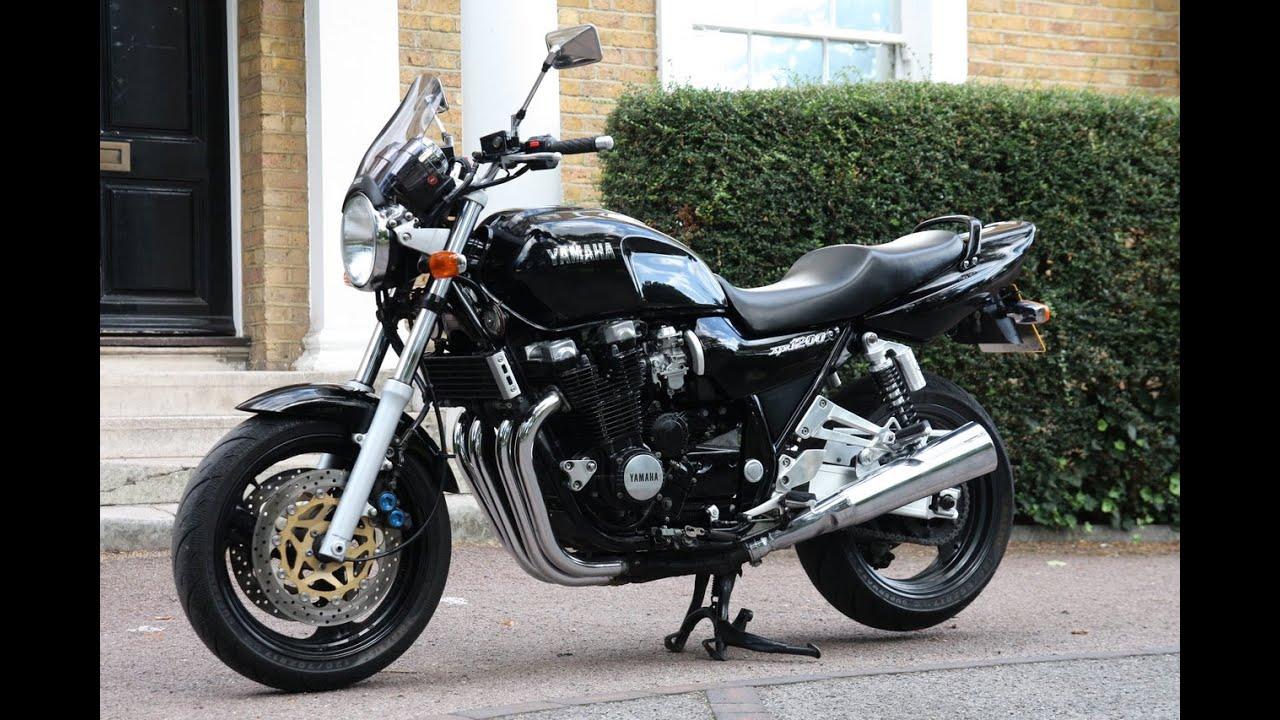 Original 1995 Yamaha XJR 1200 Classic Retro Muscle