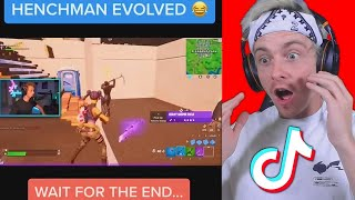 reacting to CRINGE fortnite tik toks... (embarrassing)