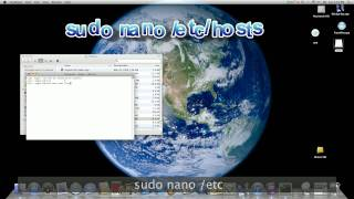 Simple Way to Edit Hosts File on Mac OSX Lion