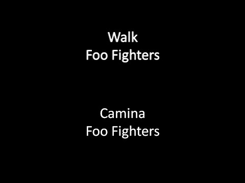 Foo Fighters-Walk (Letra Traducida)