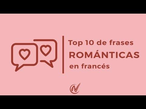 Lección Rápida Frases Románticas En Francés