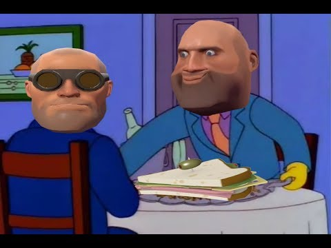 Steamed Hams But Skinner and Chalmers Are Voiced By Heavy and Engineer From TF2
