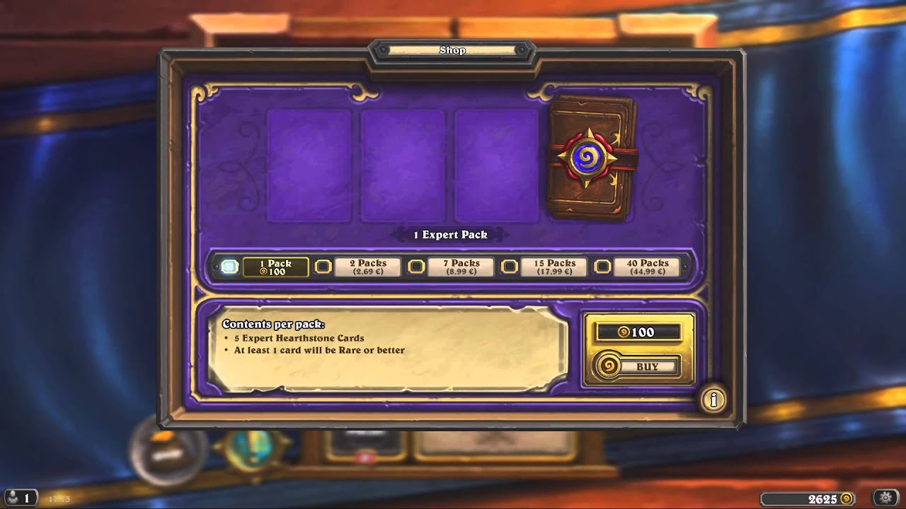 how to get free gold in hearthstone