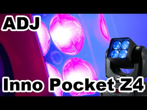 But can it do BIG events?! The ADJ Inno Pocket Z4