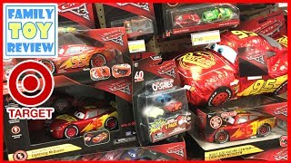New Cars 3 Toys Hunting 100+ Disney CARS 3 Ultimate McQueen Rust-eze RAcing Center Target Exclusive