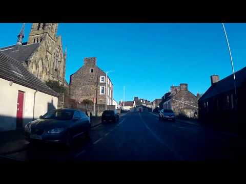 Boxing Day Road Trip Drive Into Leslie Fife Scotland