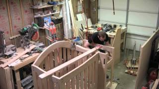 Building Adalind's Crib - A Time Lapse!