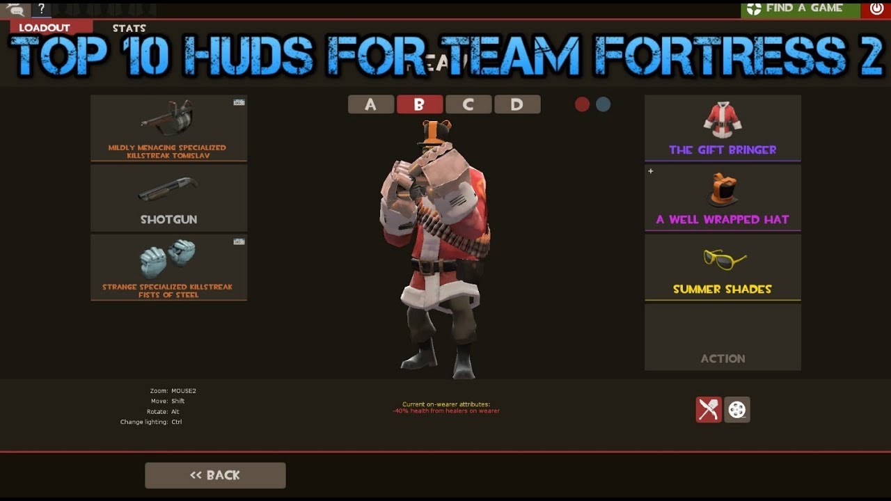 TOP 5 HUDS IN TEAM FORTRESS 2 - YouTube