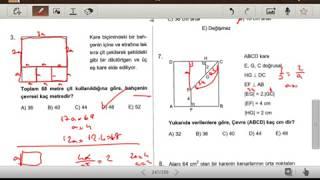 KARE 1 (Karekök YKS 2. Oturum Geometri Soru Bankası) (test 1-2-3)