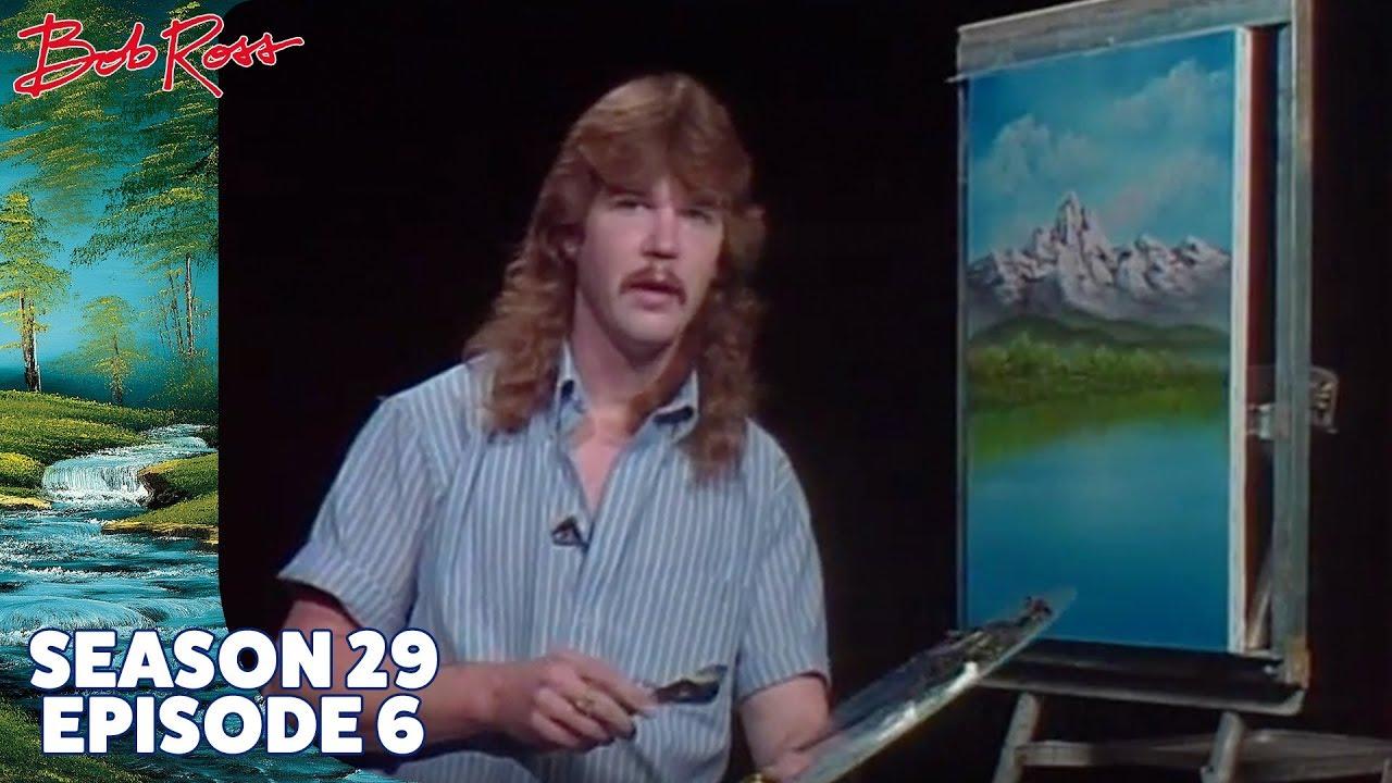 Bob ross mountain lake falls season 29 episode 6 youtube voltagebd Gallery