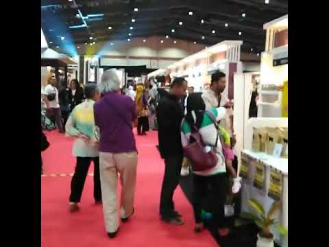 Kerupuk kulit sapi ABANG ENDUT Jakarta convention center Telkom Craft 2018