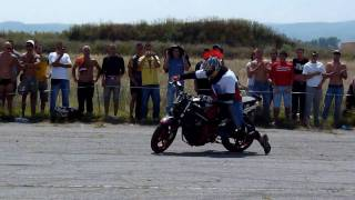 stunt riding stefi & crazy martin.avi