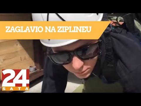 YouTuber LayZ zaglavio na ziplineu: Spašavali ga 10 minuta