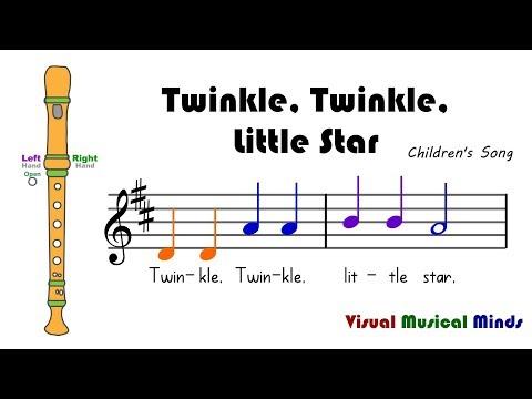 VMM Recorder Song 7: Twinkle Twinkle Little Star