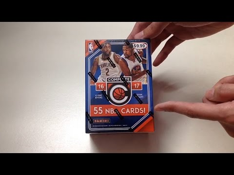 Panini 2016-2017 Complete NBA Basketball Cards Unboxing