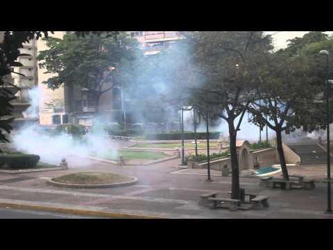Protestas en Venezuela: Emboscada express en Altamira, Caracas 13 de marzo 2014