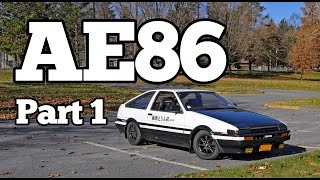 Regular Car Reviews: 1985 Toyota AE86 Sprinter Trueno, Part 1