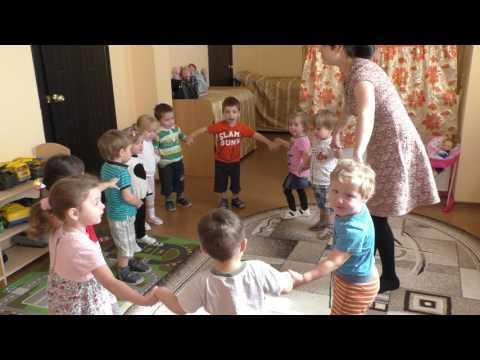 """5 группа (дети 2-3 лет)  Игра """"Мы большой построим дом"""""""