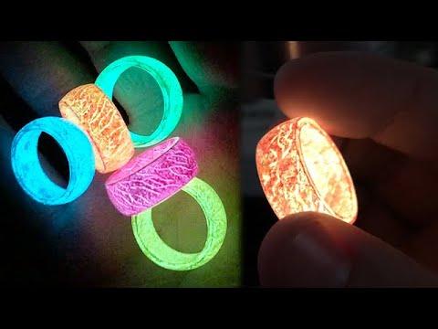 Secret Wood - Glow in the Dark Rings