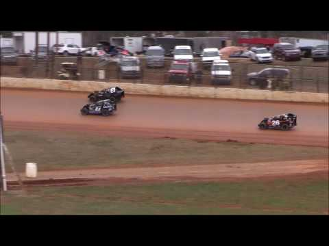 Mod-Lite Heat #4 from 411 Motor Speedway, December 31st, 2016.
