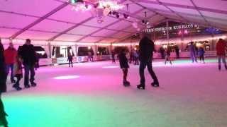 Ice skating at The Hague