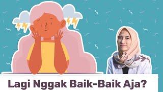 Kalau Sedang Ada Gangguan Mental, Sadar Nggak Sih?   dr. Vania Utami