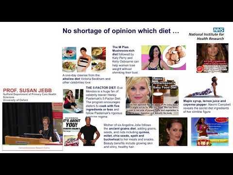 Is dieting really worth it? - Professor Susan Jebb