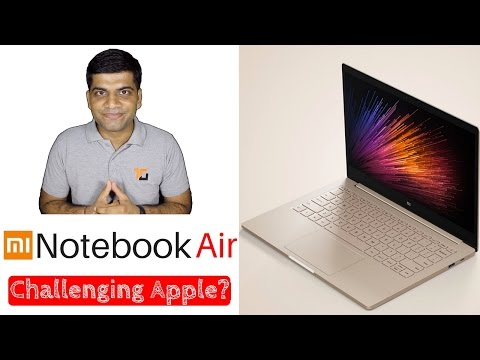 Mi Notebook Air | Challenging Apple?? | My Opinions