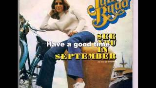 """See You In September"" Julie Budd Lyrics/Letra"