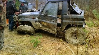 3x Jeep cherokee vs opel frontera Off-road 4x4