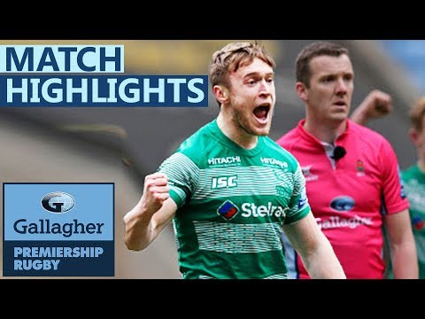 Wasps 19-20 Newcastle | Injury Time Penalty Secures Huge Win!  | Gallagher Premiership - Highlights