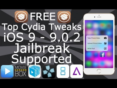 NEW Get Top Cydia Tweaks & Apps FREE iOS 9 / 10 / 11 - 11.3.1 iPhone iPad iPod Touch