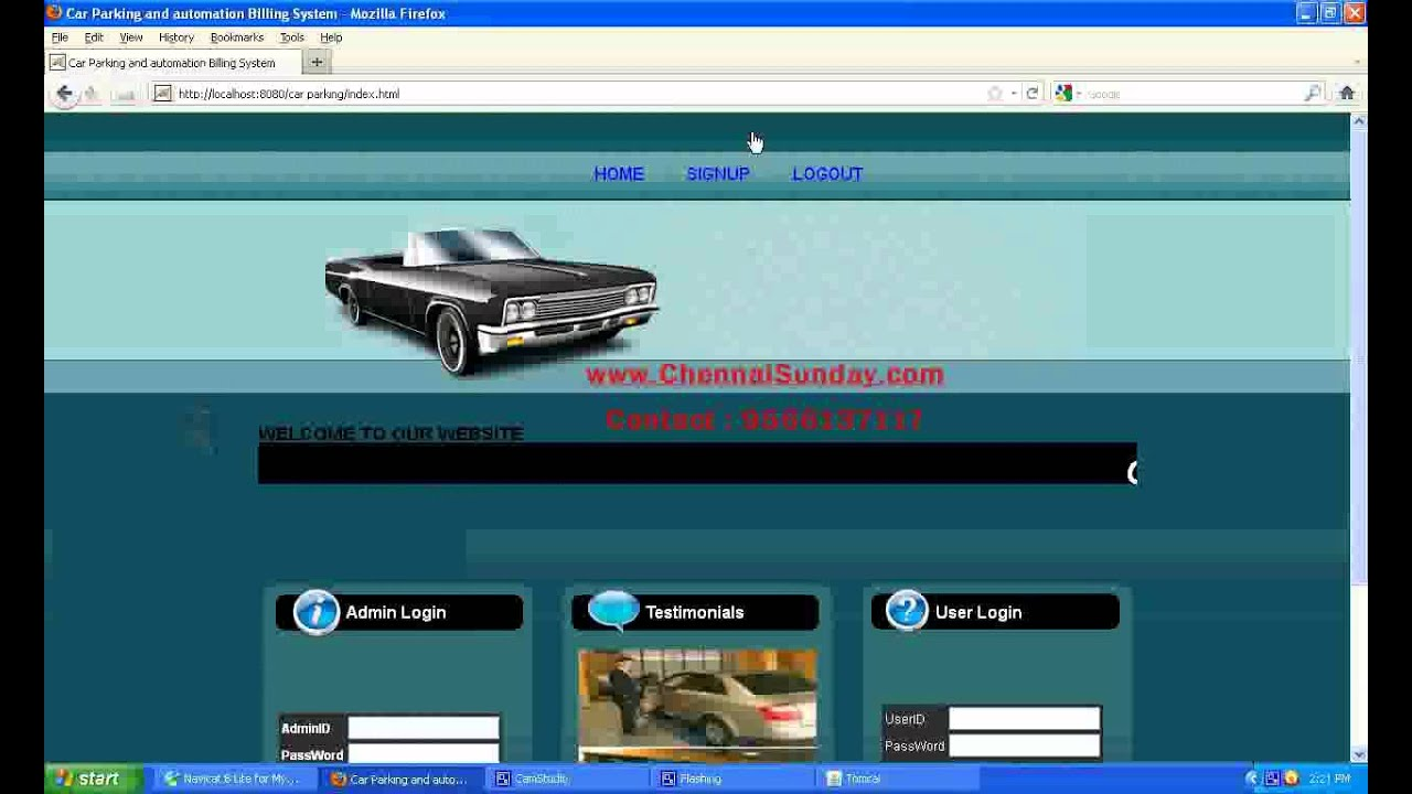 Design of car parking - Design And Development Of Car Parking And Automation Billing Systems