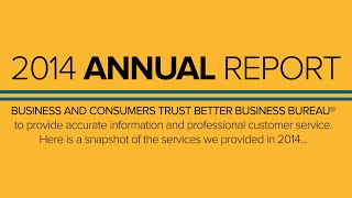 2014 BBB Annual Report