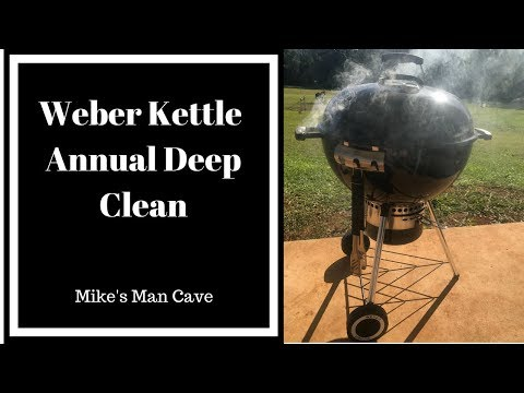 Weber BBQ Kettle Deep Clean - Annual Spring Clean