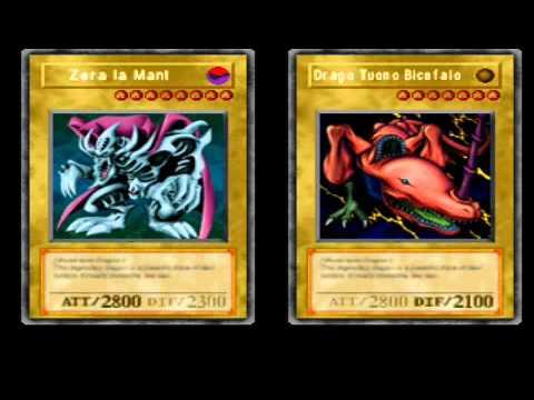 Yu Gi Oh Forbidden Memories Twin Headed Thunder Dragon Deck