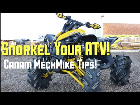 Snorkel Your Can-am ATV! MechMike Tips!