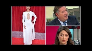 Coronation Street actress Nicola Thorp clashes with Piers Morgan during furious row over objectif...