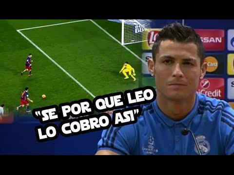 Todo sobre el penal indirecto de Messi | Cristiano revela qué piensa de la MSN -CRACKS