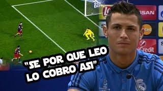 Todo sobre el penal indirecto de Messi | Cristiano revela qué piensa de la MSN -CRACKS thumbnail