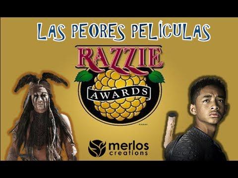 Nominados a Peor Película del 2013/2014 | Razzies Awards (Golden Raspberry)